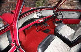 Restored 59 Mini-Minor Interior